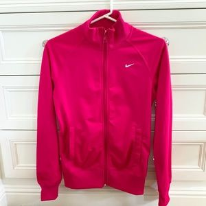 Bright pink Nike Zip Up Jacket